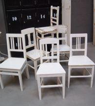 Brocante stoelen  Old BASICS