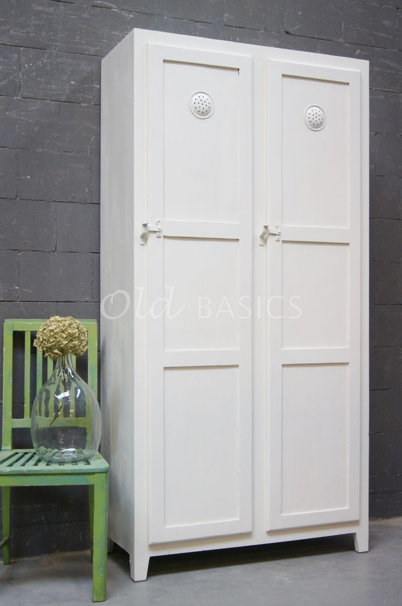 Lockerkast Ives  Wit  11507001  Old BASICS
