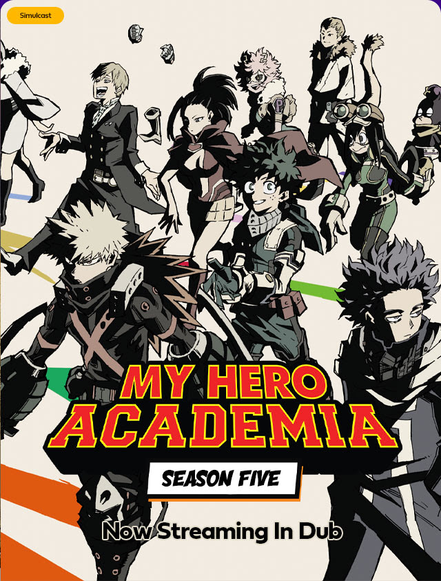 My Hero Academia Streaming Saison 1 : academia, streaming, saison, English, Simuldub, Academia, Streaming, AnimeLab, Otaku's, Study