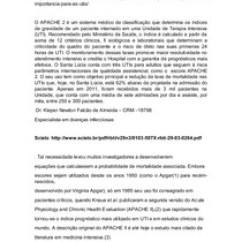 Escore Prognostico Sofa Cloud Lema Escores Apache Ii Nutric Score Nutricao Enteral E