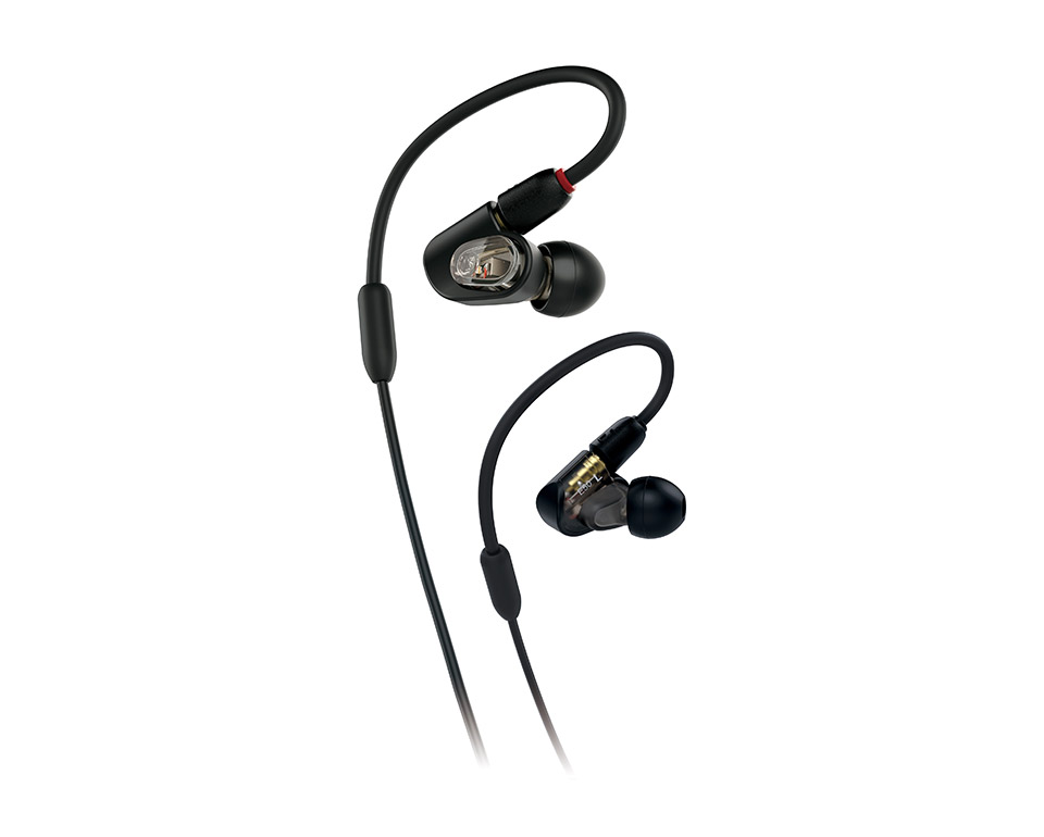 Audio Technica ATH-E50 Professional In-Ear Headphones [ATH