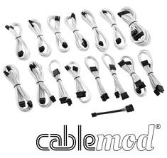 CableMod ModMesh E-Series G2 & P2 Cable Kit White [CM-EV2