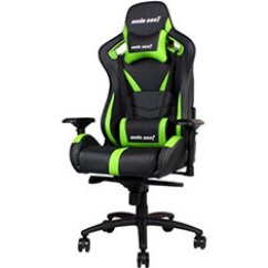 Razer Gaming Chair Seat Cushions For Office Chairs Australia Pc Case Gear Anda Ad12xl 03 Black Green