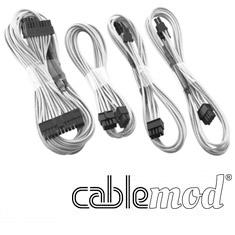 CableMod C-Series RMi / RMx Basic Cable Kit White [CM-CSR
