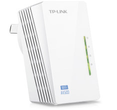 TP-Link WPA4220 300Mbps AV500 WiFi Powerline Extender [TL