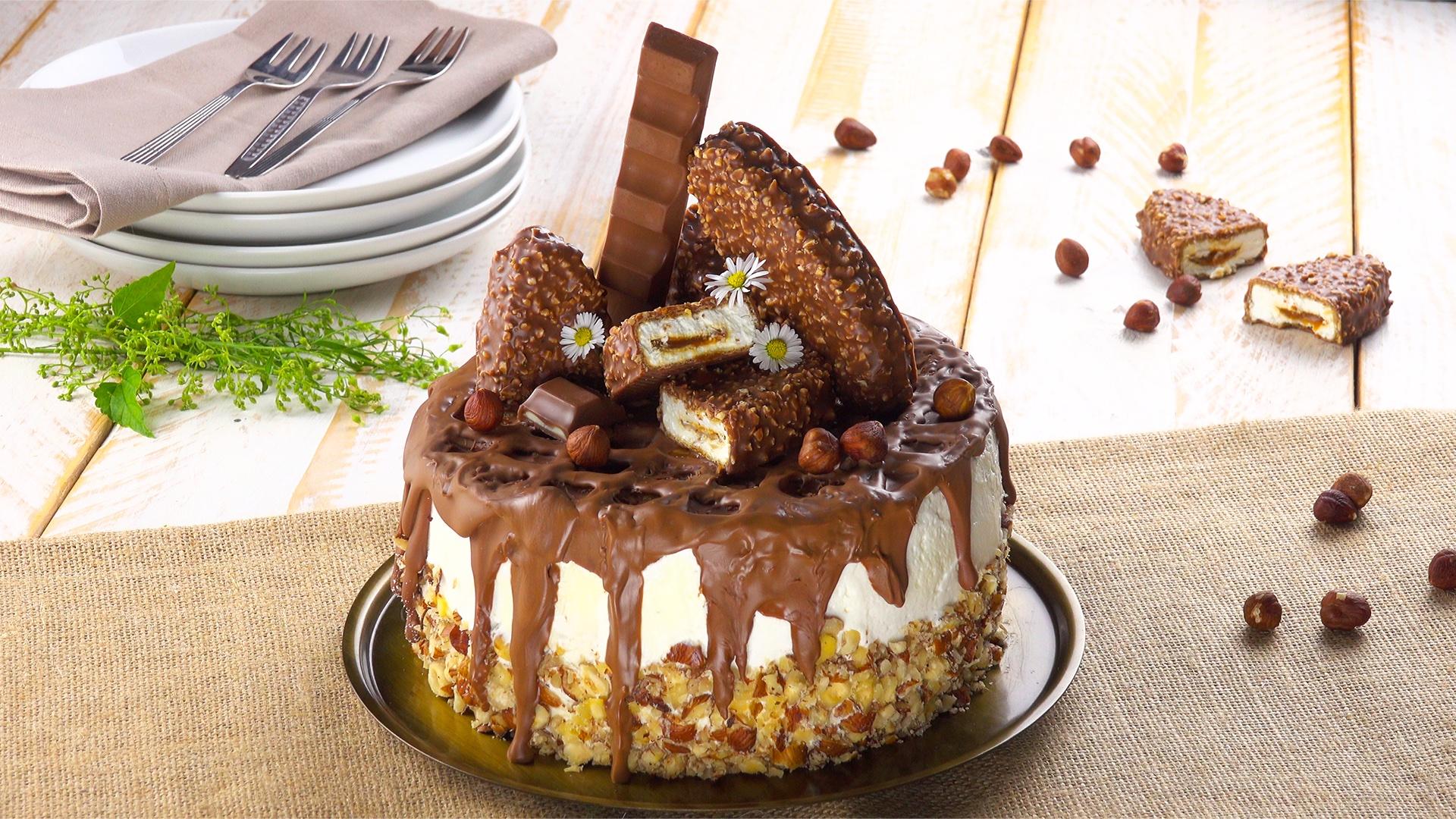 Torta Kinder Maxi King un dolcissimo gusto in versione