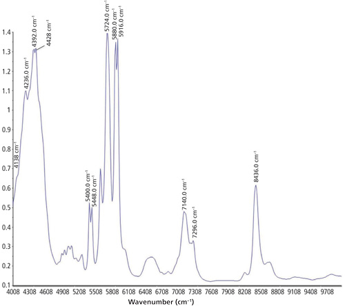 Using Near-Infrared Spectroscopy to Monitor the Curing
