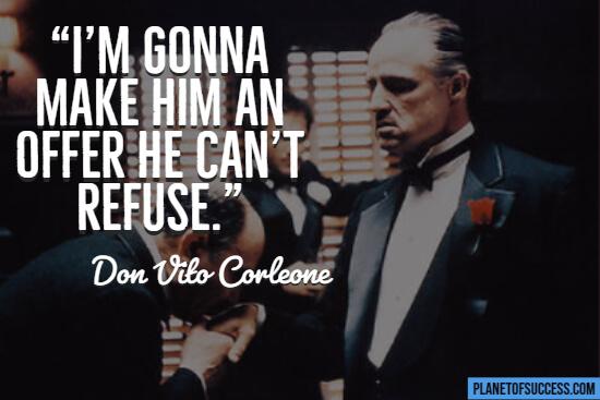 Godfather movie quote