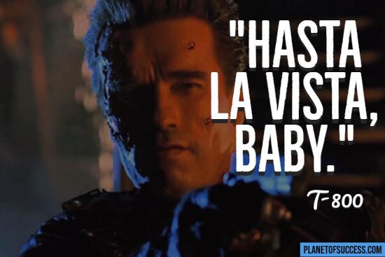 Terminator movie quote