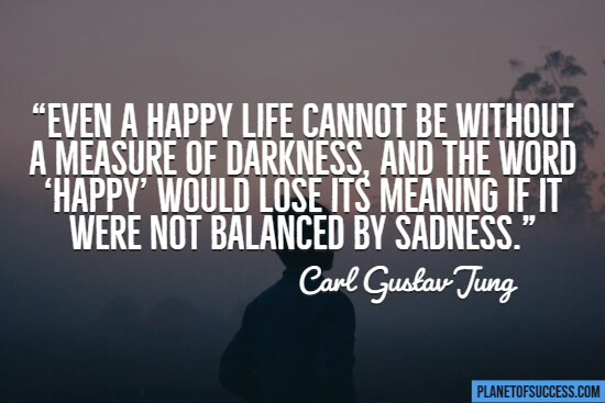 Quote about sadness