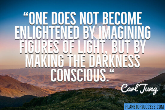 Become enlightened quote