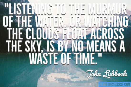 The clouds float across quote