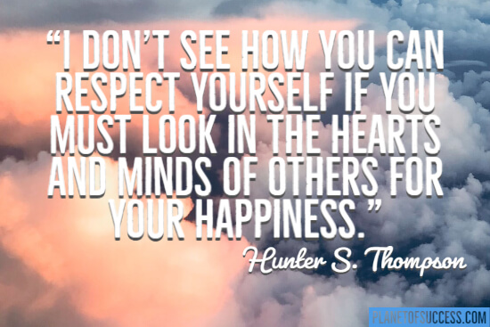 How you can respect yourself quote