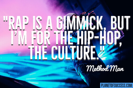 Rap as a gimmick