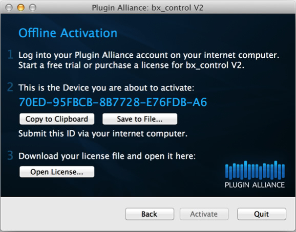activation manual plugin alliance