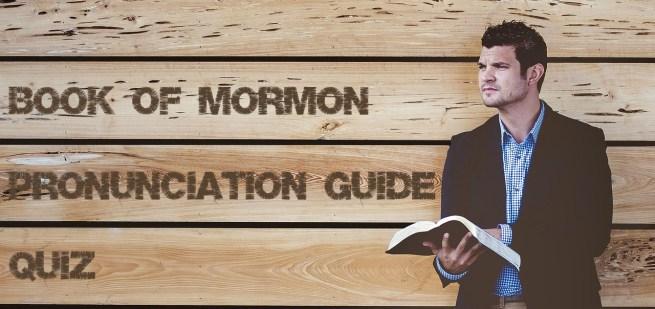 BoM Pronunciation Guide Quiz header