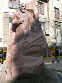 Памятник И.Мечникову