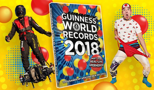 Guinness World Records 2018 Edition
