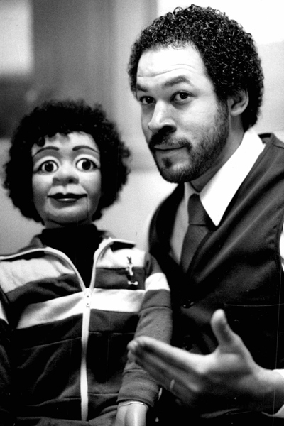 Walter Taylor and dummy Cur