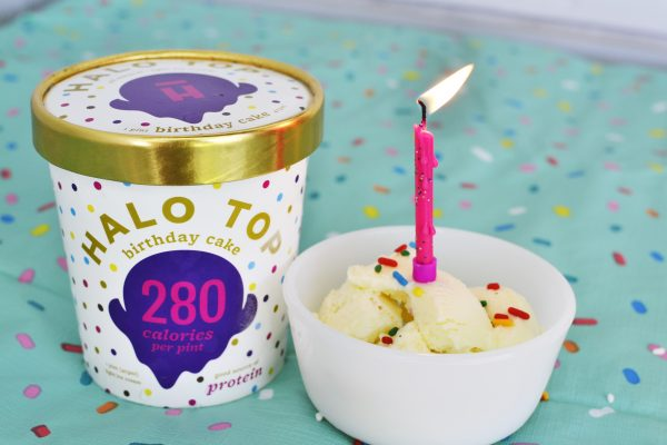 Birthday Cake Sweet Cream Ice With Rainbow Sprinkles Throughout Click To Enlarge