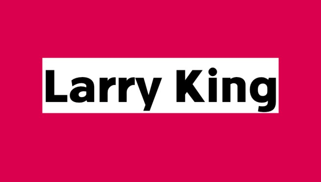 LarryKing