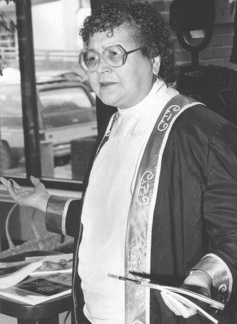 Rita Joe Mic Mac poet and teacher 1992[1]