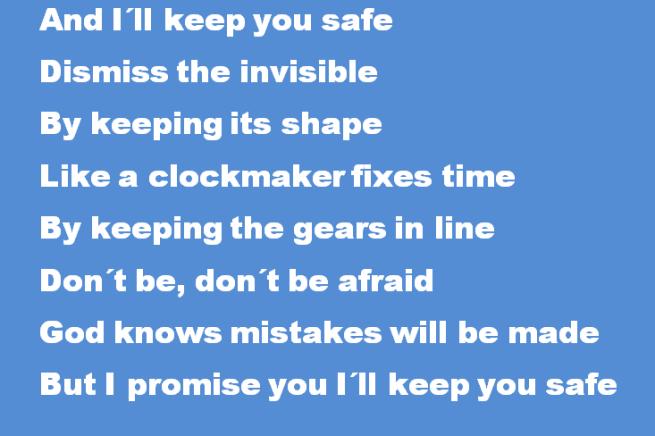 I´ll keep you safe 7