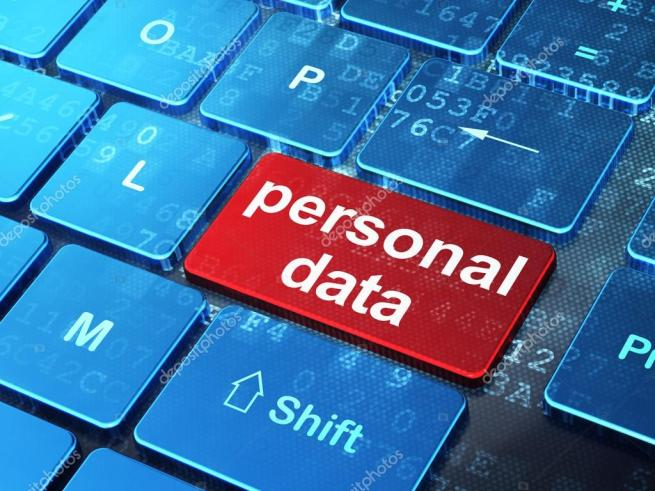 depositphotos 35170647 stock photo information concept personal data on