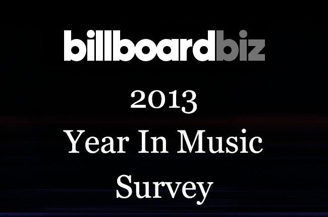 billboard year in music survey