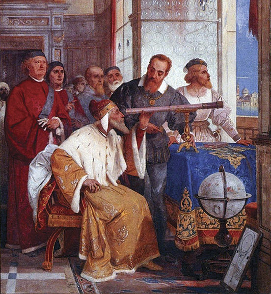 552px Bertini fresco of Galileo Galilei and Doge of Venice