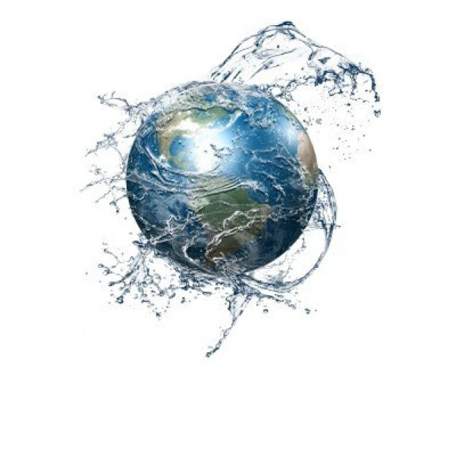 8565915 our planet earth is in a blue spray of clean water