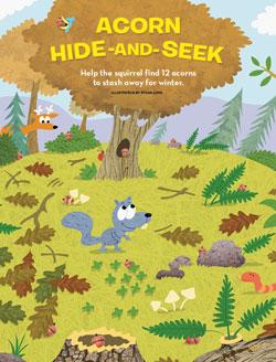 acorn hide and seek 250x