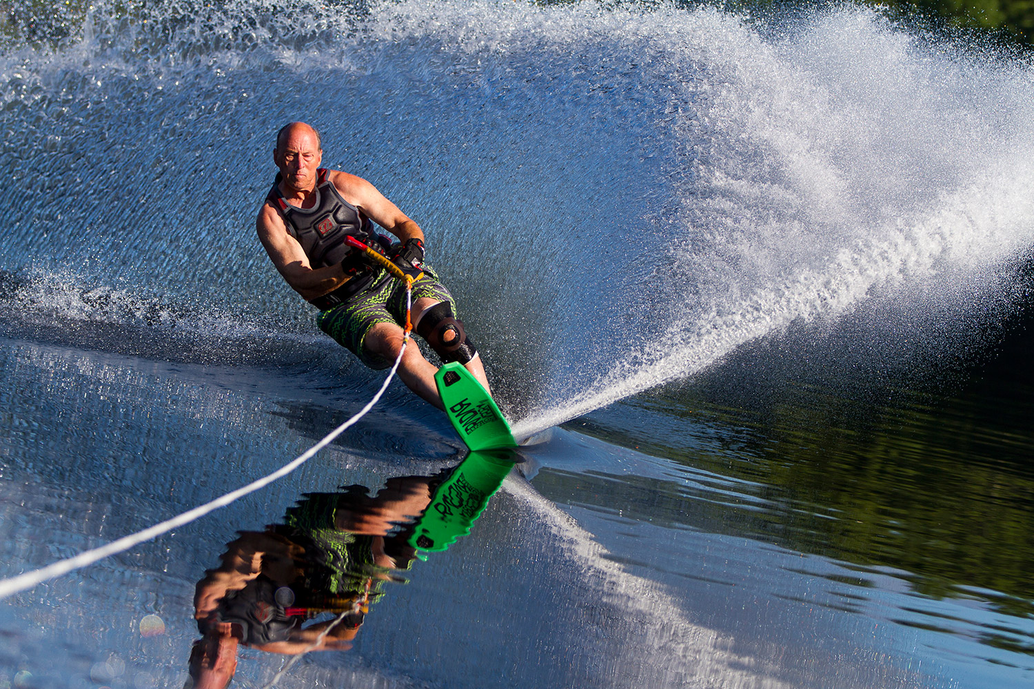 Water Ski Chair Pete Alderman Still Water Skiing At Age 79 The Portland