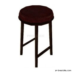 Chair Without Back Leather And Ottoman High Upholstered Cj Barstool 2 2350 Object On The Light Background