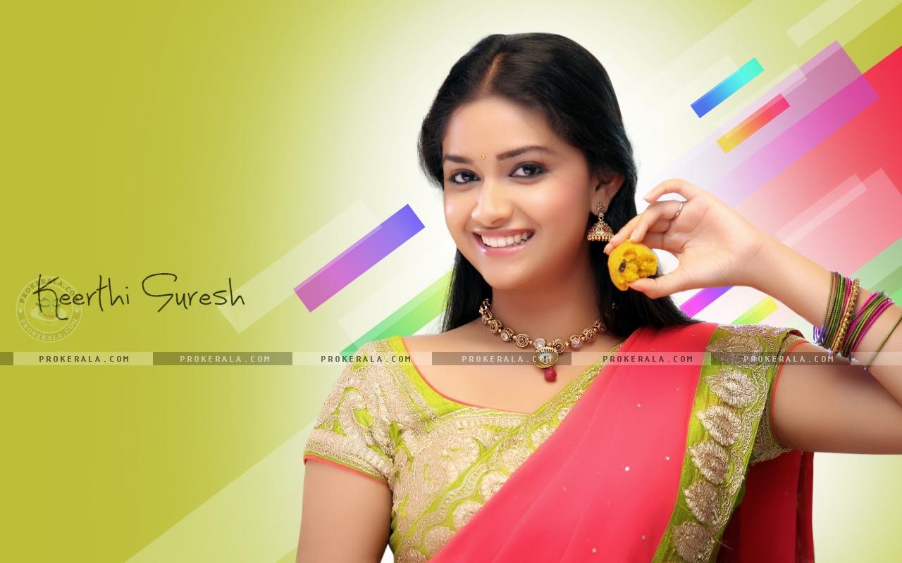 Cute Dimple Baby Wallpaper Actress Keerthi Suresh Cute New Wallpapers