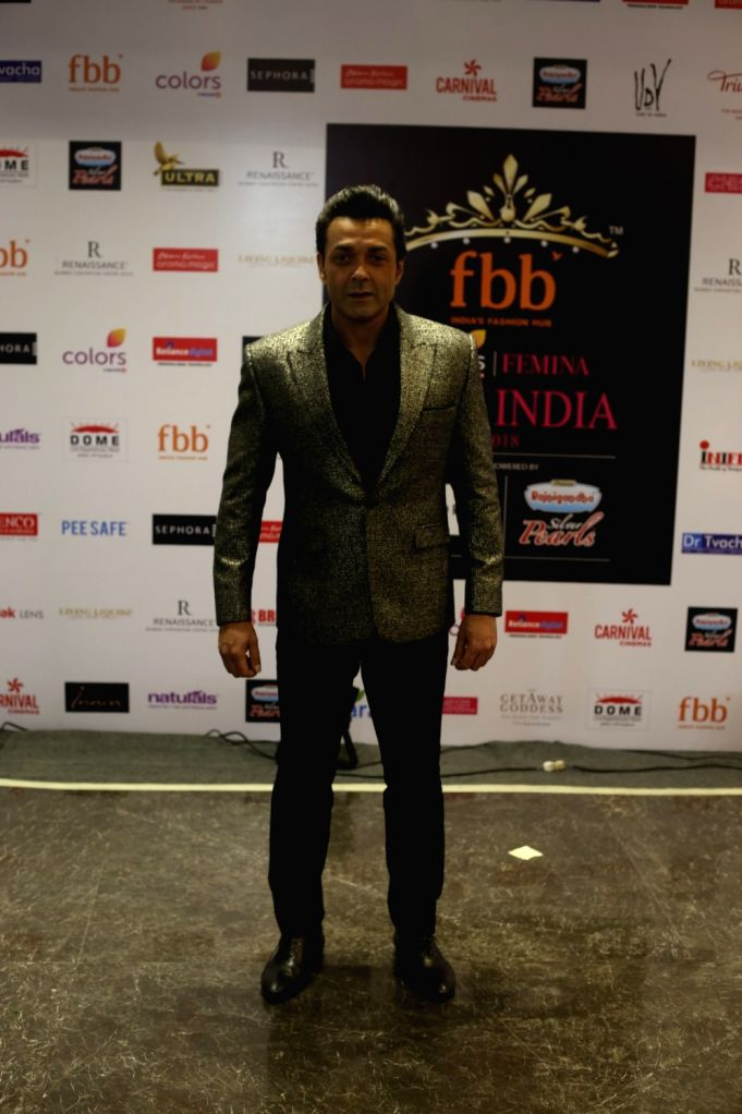 Red Carpet for the Grand finale of Miss India 2018  Bobby Deol