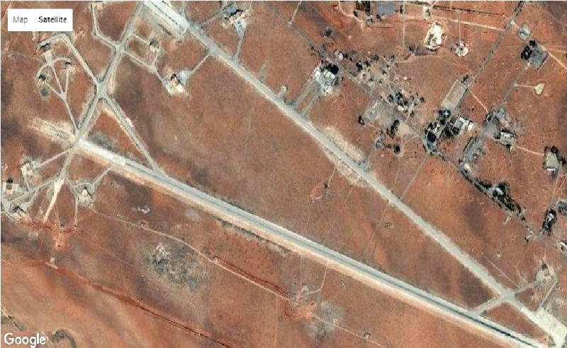 Image result for al-Shayrat air base