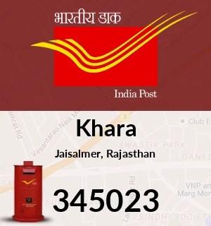 Khara Pin Code. Jaisalmer. Rajasthan