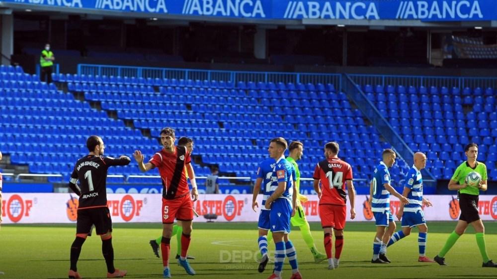 Dani Giménez: 'La fuerza del grupo es la que nos va a hacer salir de aquí'    Página Oficial del R.C. Deportivo de La Coruña