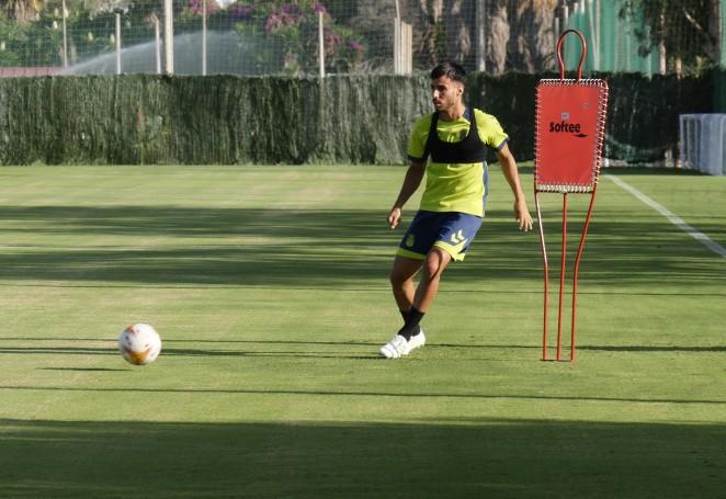 Último entrenamiento de la UD Las Palmas antes de enfrentarse al Wolvehamton. Imagen Web UD Las Palmas