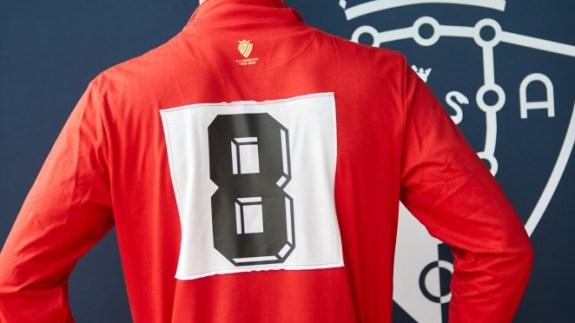 Camiseta centenario Osasuna