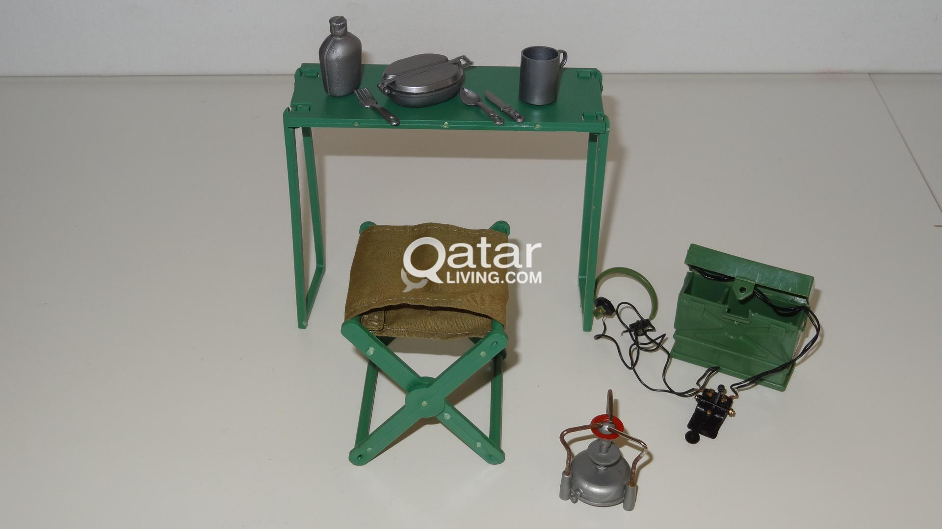 sedan chair rental walmart mickey mouse table and chairs action man palitoy - vintage camping gear 1970's | qatar living