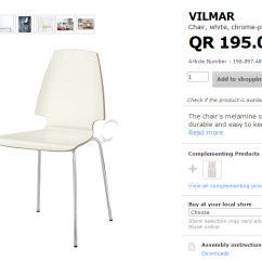 Vilmar Chair Instructions Air For Sale Dining Table 4 Chairs Qatar Living Title