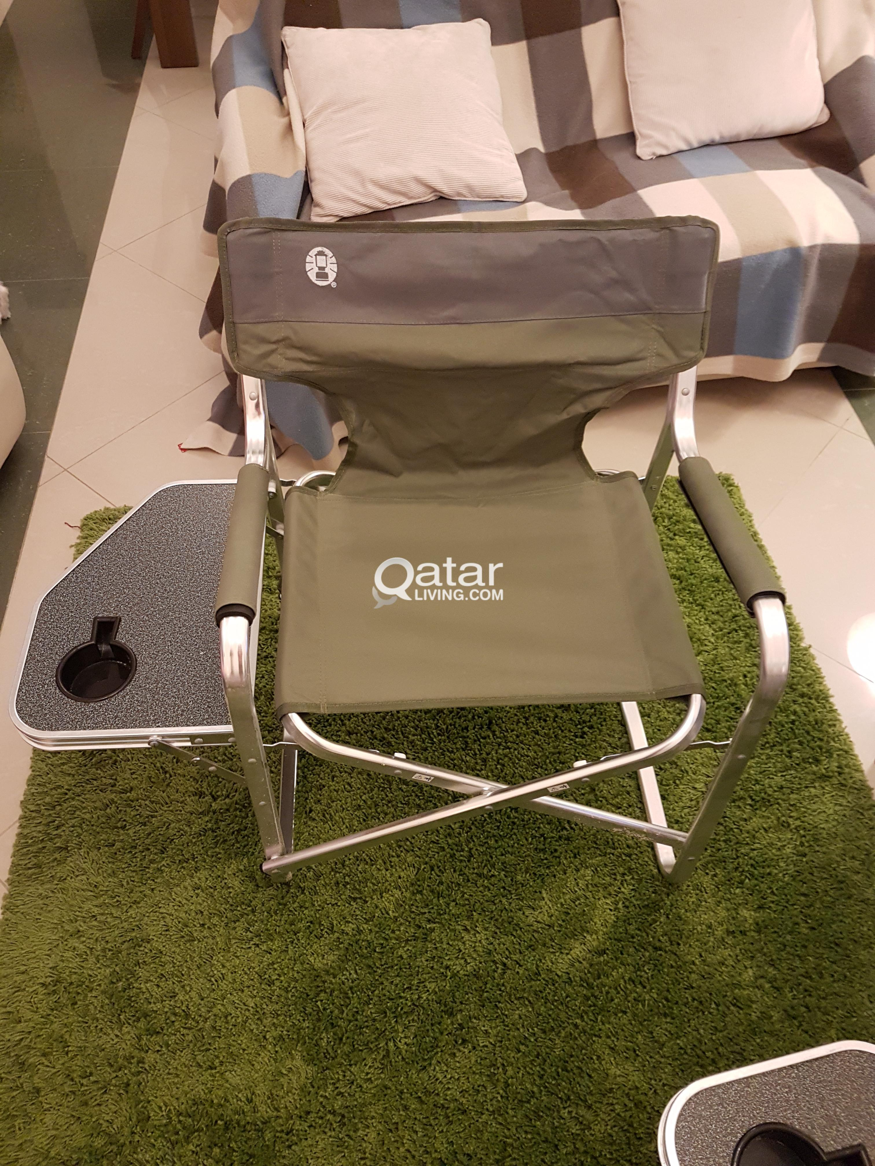 Picnic Chairs Pair Of Coleman Picnic Camping Chairs Qatar Living
