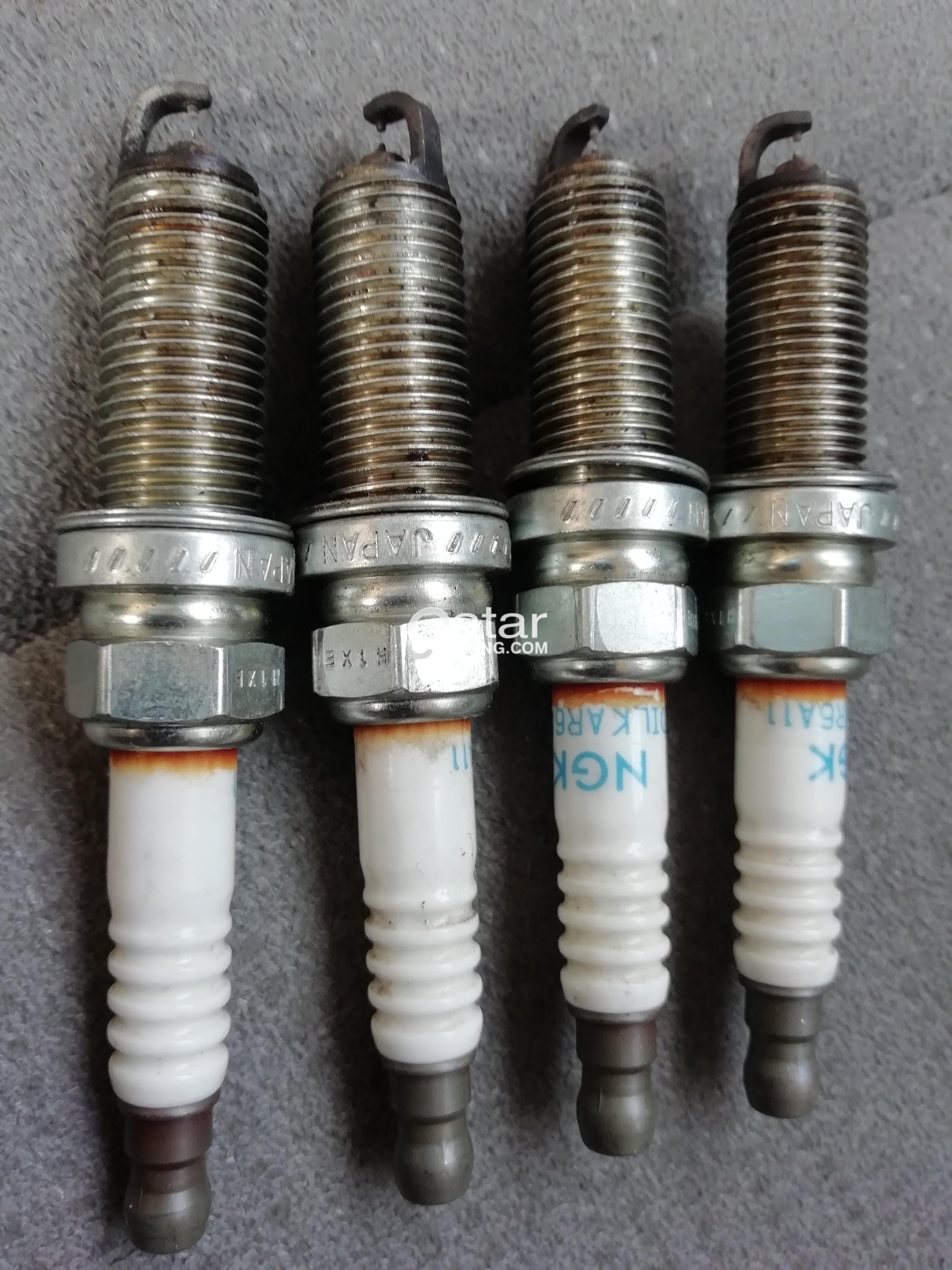 hight resolution of condition of spark plug plug