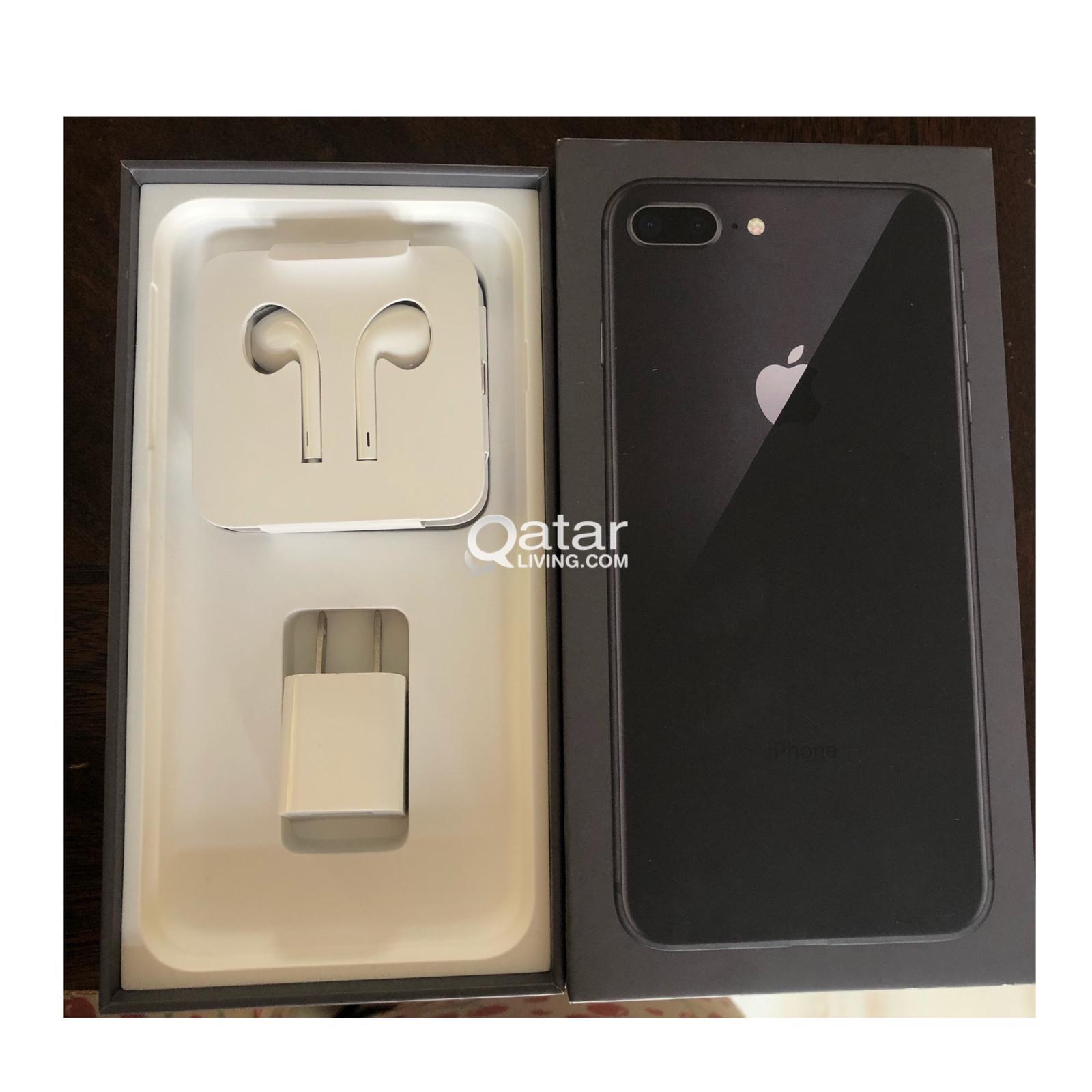 آيفون 8 بلس أسود 256 جيجا للبيع Iphone 8 Plus 256gb For Sale
