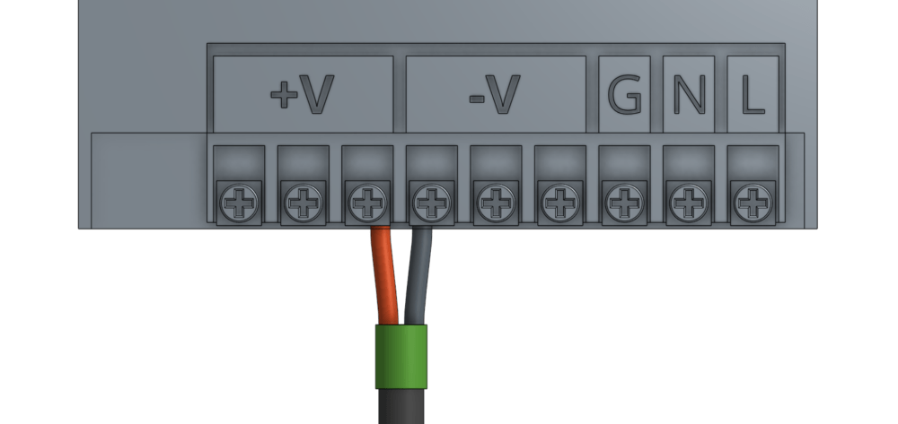 medium resolution of attach the black negative wire from the ramps power cable to one of the available negative outputs on the power supply and tighten the screw