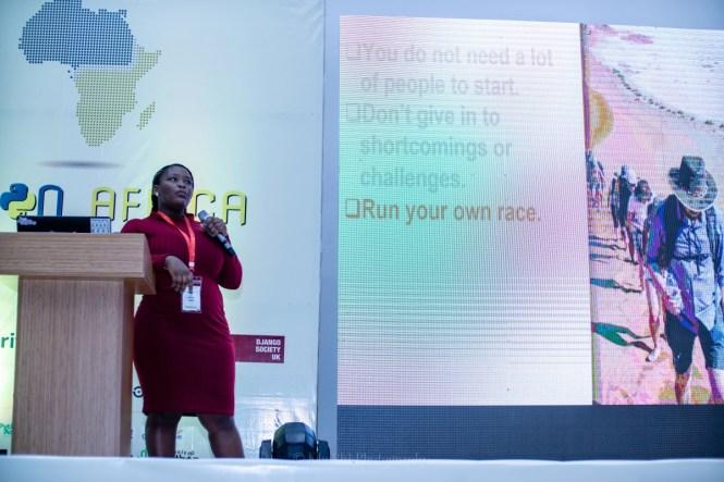 Jessica Upani PyCon Africa Talk