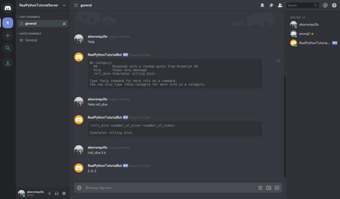 official store shop best sellers best selling Comment faire un bot discord en Python – Real Python ...