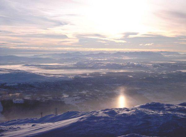 Åreskutan 1420 m.ö.h - Åre - Sverige